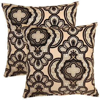 Vouray Dove 17-inch Throw Pillows (Set of 2)