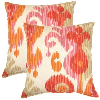 Journey Fruity 17-inch Throw Pillows (Set of 2)