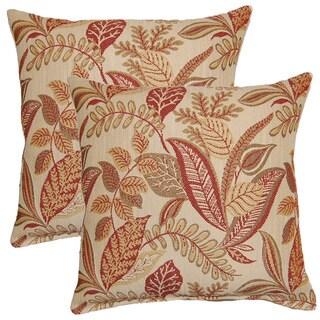 Becoming Sangria 17-inch Throw Pillows (Set of 2)