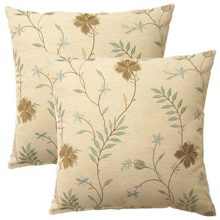 Lyndhurst Glacier 17-inch Throw Pillows (Set of 2)