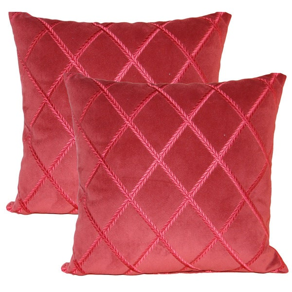 Destiny Berry 17-inch Throw Pillows (Set of 2)