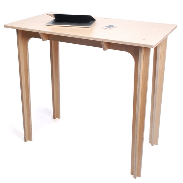 Natural 40 inch Standing Desk Overstock Shopping Great