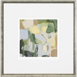 Giclee 'Mist' Abstract Framed Art Print