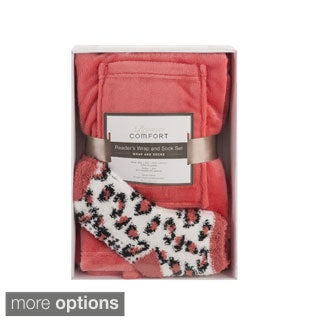 Premier Comfort Reader's Wrap & Sock Set