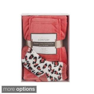 Premier Comfort Reader's Wrap & Sock Set