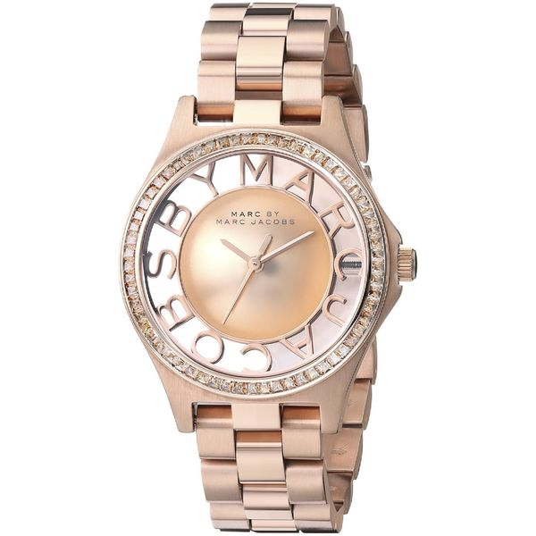 Marc Jacobs Women's MBM3339 Henry Rose Gold Watch