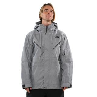 The North Face Men's Graphite Grey RR Stripe Stateline Triclimate Jacket
