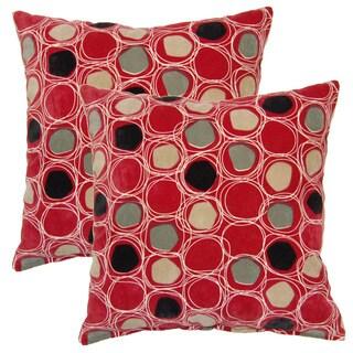 Ella 17-inch Throw Pillows (Set of 2)