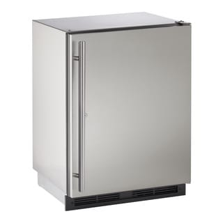 U-Line 1000 Series 1224 - 24 Inch Outdoor Stainless Steel Refrigerator