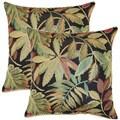 Mauna Kea Sunset 17-inch Throw Pillows (Set of 2)