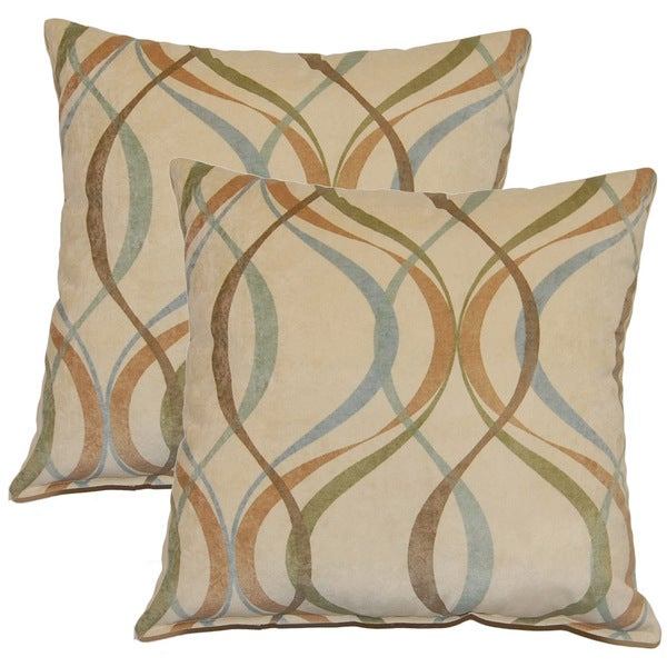 Savi Spa 17-inch Throw Pillows (Set of 2)