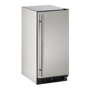 U-Line 1000 Series 1215 - 15 Inch Outdoor Stainless Steel Refrigerator