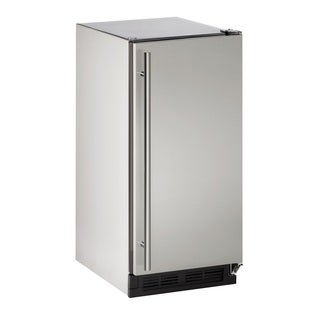 U-Line 1000 Series 1215 - 15 Inch Outdoor Stainless Steel Crescent Ice Maker