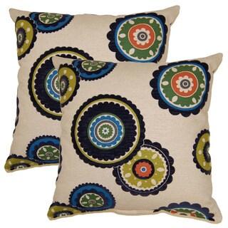 Rumi 17-inch Throw Pillows (Set of 2)
