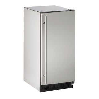 U-Line 1000 Series 1215 - 15 Inch Outdoor Stainless Steel Clear Ice Maker (With Pmp)