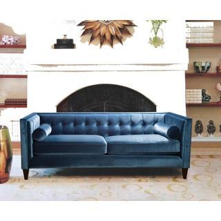 Sandy Wilson Polyester Tufted Back Sofa