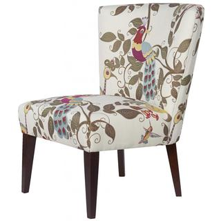 Floral Aviary Armless Chair