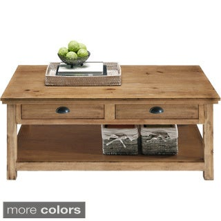 Willow Distressed Rectangular Cocktail Table