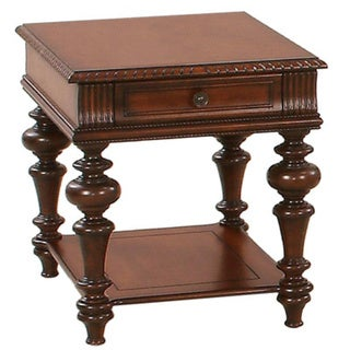 Mountain Manor Heritage Cherry Rectangular End Table