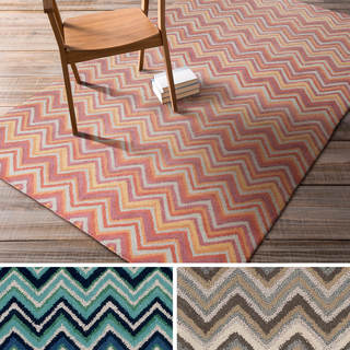 Hand-Tufted Claudia Contemporary Wool Rug (8' x 11')