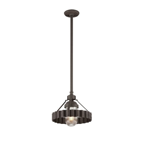 Troy Lighting Canary Wharf 1-light Medium Pendant