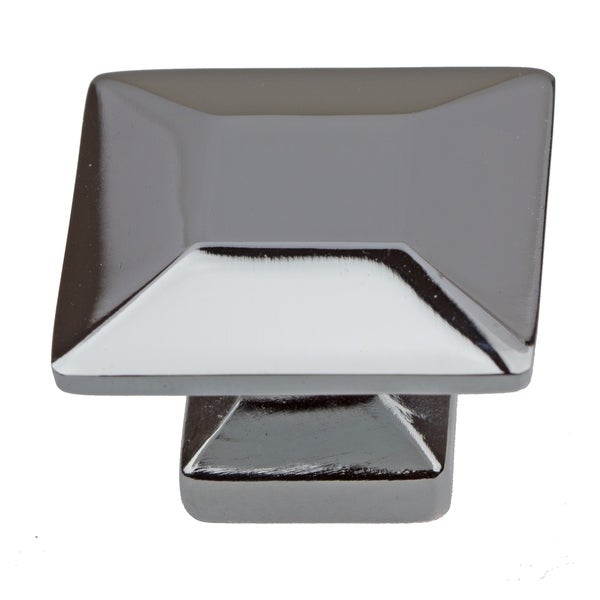GlideRite 1.375-inch Polished Chrome Square Cabinet Knobs