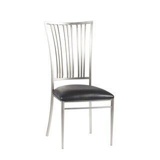 Ashton Black Fan Back Side Chair (Set of 2)
