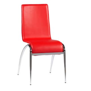Laine Red Arch Leg Side Chair (Set of 4)