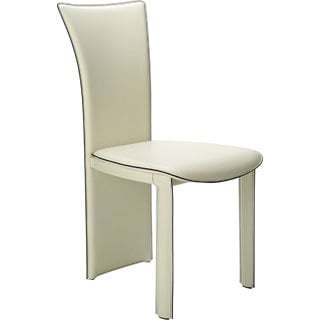 Somette Diedre Beige Fan Back Side Chair (Set of 4)