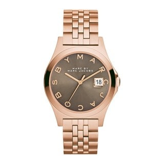 Marc Jacobs Women's MBM3350 The Slim Brown Rosetone Stainless Steel Watch