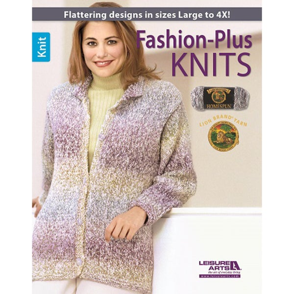 Leisure Arts-Fashion-Plus Knits
