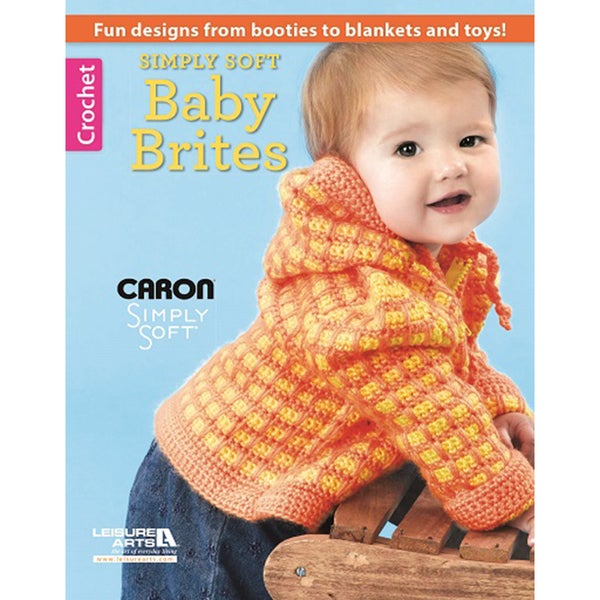 Leisure Arts-Simply Soft Baby Brites