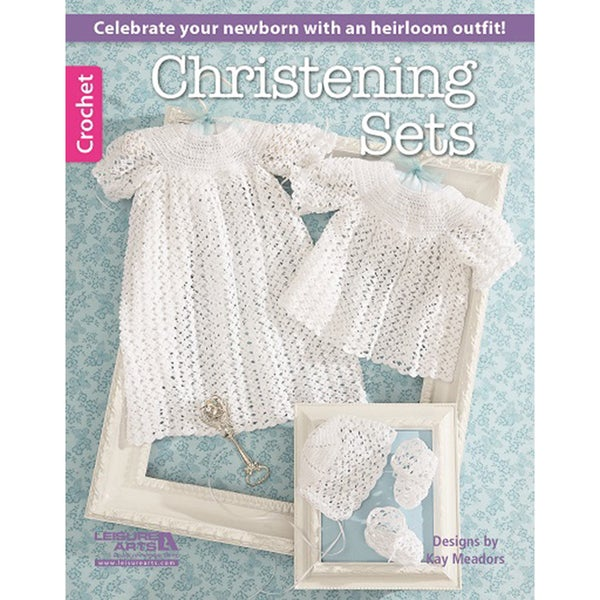 Leisure Arts-Christening Sets 14636763