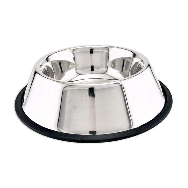 Stainless Steel Non-Skid Dish 24oz-
