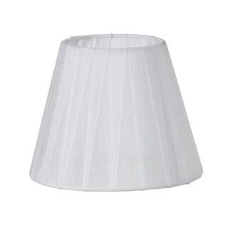 Sheer White Ribbon Lamp Shade