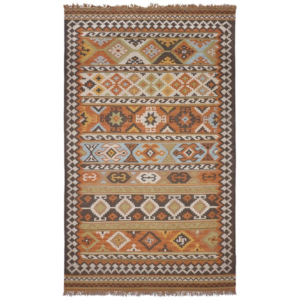 Elvy Indoor Outdoor Poly Kilim Rug Overstock Shopping