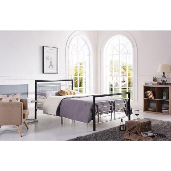 Hodedah Metal Bed Frame