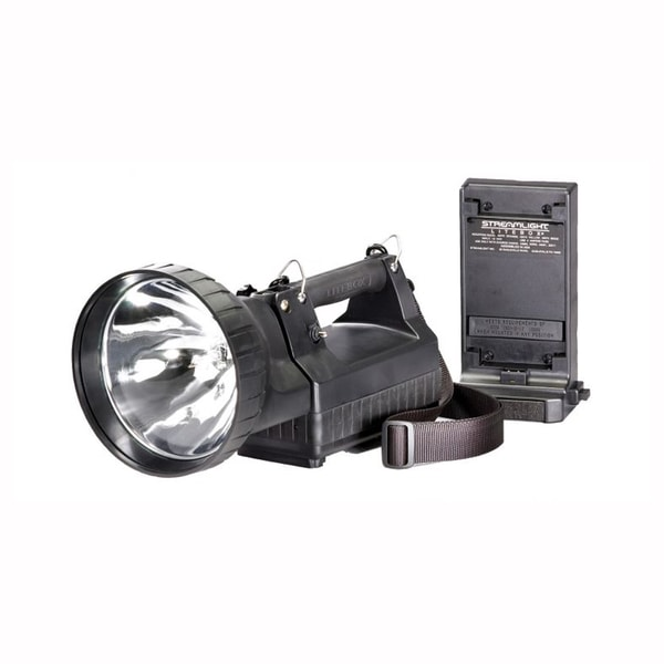 Hid Litebox 120V Ac/ 12Vdc Black Latern