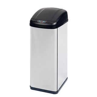 Honey Can Do Stainless Steel Sensor Operated 52-liter Trash Can