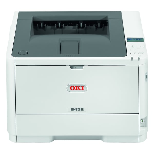 Oki B432dn LED Printer - Monochrome - 1200 x 1200 dpi Print - Plain P