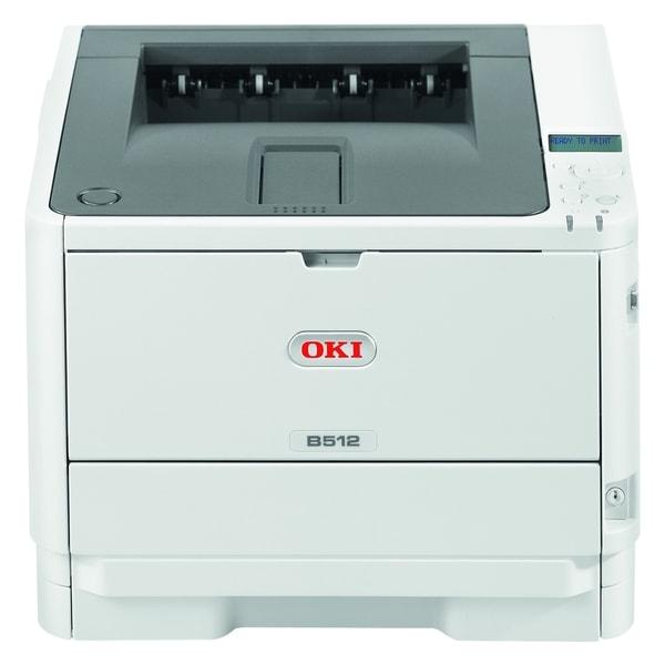 Oki B512dn LED Printer - Monochrome - 1200 x 1200 dpi Print - Plain P