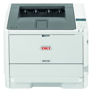 Oki B512dn LED Printer - Monochrome - 1200 x 1200 dpi Print - Plain P