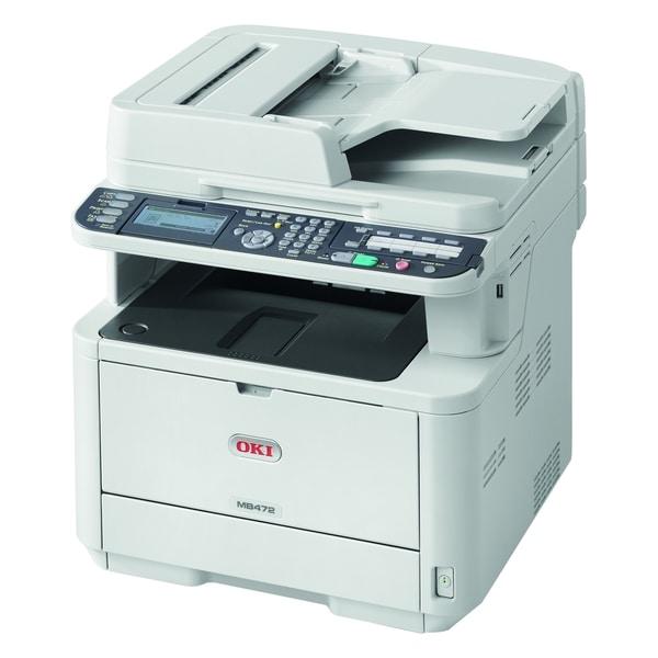 Oki MB472w LED Multifunction Printer - Monochrome - Plain Paper Print