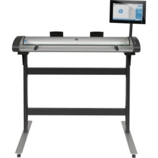 HP Designjet Large Format Sheetfed Scanner - 1200 dpi Optical