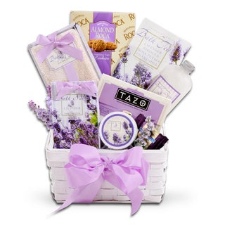 Lavender Spa Relaxation Gift Basket