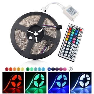 INSTEN Waterproof 5M With 300 LED Strip Light With IR Remote