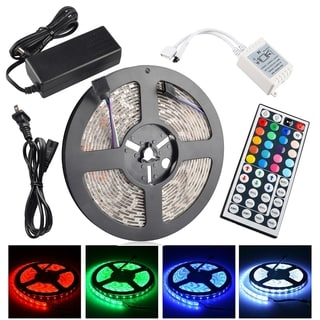 INSTEN Waterproof 5M With 300 LED Strip Light With IR Remote And Power Supply