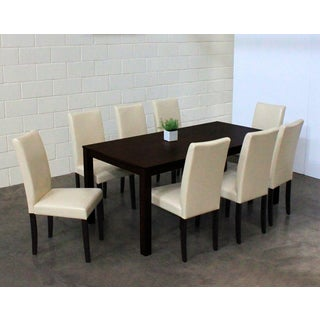 Warehouse of Tiffany Shino Chalk 9-piece Dining Set