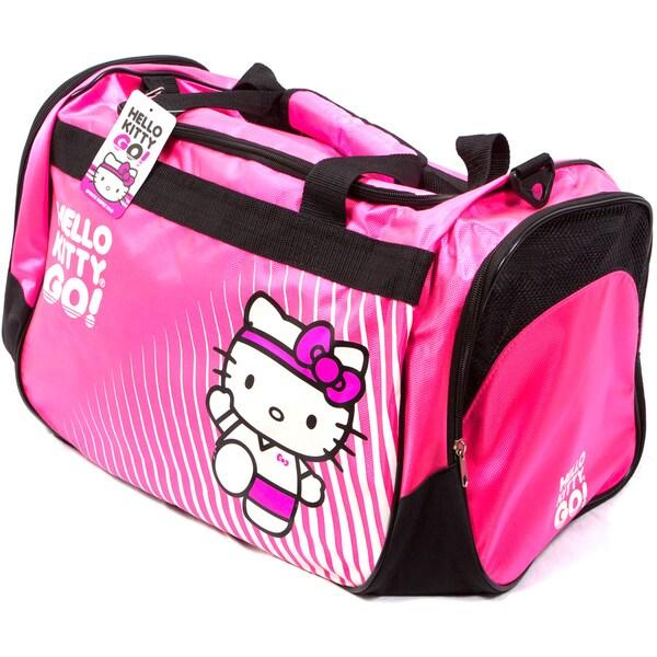 Hello Kitty Hot Pink Sports Duffel Bag