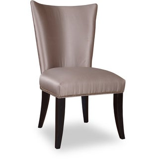 Cosmopolitan Parchment Upholstered Side Chair